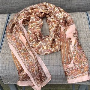100% Pure Silk Scarf From India